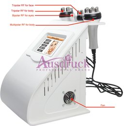 Face Lift For Wrinkles Australia - RF heads Multipolar Radio Frequency Skin Tightening face lift wrinkle removal weight loss machine for home & salon use