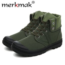 $enCountryForm.capitalKeyWord NZ - Merkmak Canvas Shoes Men Boots Leisure High Top Ankle for Male Flats Footwear Casual Spring Autumn Camouflage Blue Wholesale