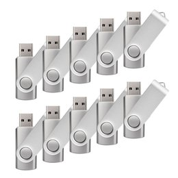 32gb pen Australia - 10 Pack Silver 32GB USB 3.0 Flash Drives Enough Pen Drive 32gb Thumb Storage Flash Memory Stick U Disk for Computer Macbook Tablet Laptop