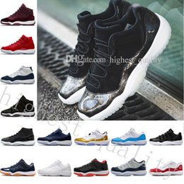 red glitter shoes 13 Canada - Cheap 11 Space Jam 45 11S Gym Red Midnight Navy Gamma Blue Navy Gum Blue MoonMen Basketball Shoes Sports Sneakers size US 5.5-13 Eur 36-47
