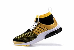 2993e58527df6 Newest PRESTO BR QS fly Triple Black White yellow red Men Women High Gang  Shoes Walking designer Sneakers Trainer Sports Shoes 36-46