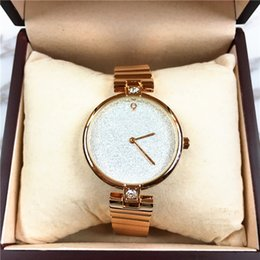 diamond water 2019 - Luxury Women Watch Diamonds Stainless steel Rose Gold Fashion Lady Wristwatch Dress watch Steel Bracelet Chain Star Shin