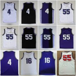 4 Chris Webber Jerseys Stitched  16 Peja Stojakovic Black Purple White  Shirts  55 Jason Williams Basketball Jersey 99e9f3fad