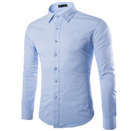 China Brand White Men Shirt Long Sleeve Chemise Homme Fashion Business Design Mens Slim Fit Dress Shirts Casual Camisa Social supplier designs dress suppliers