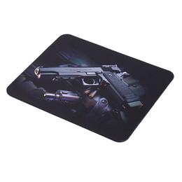 $enCountryForm.capitalKeyWord UK - 2017 Guns Photo Anti Slip Laptop Computer PC Mouse Gaming Mouse Mat Mousepad For Optical 22 cm * 18 cm