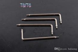 T6 T8 Herramienta de desmontaje de extracción Torx para la mayoría de los cuchillos Cuchillos de mesa como BM42 BRS