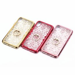 DiamonD Design for phone online shopping - 3D Queen Ring Kickstand Special Design Soft diamond For female Phone Case For Iphone X Phone Case