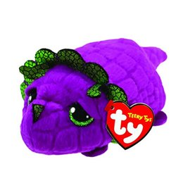 China 10CM Teeny Tys Ty Beanie Boos Purple Dragon Plush Stuffed Animal Collectible Doll Toys For Children Juguetes supplier purple stuffed animals suppliers