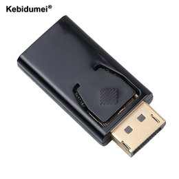 Chinese  Kebidumei Display Port Male DP to HDMI Female cable Converter Adapter For PC Notebook Laptop Macbook Projector manufacturers