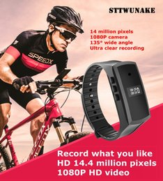 Discount mini video cams visions - STTWUNAKE HD 1080P Digital Mini Camera Video Voice Recorder Sports mini DV Smart Bracelet Micro Cam Night Vision Camcord
