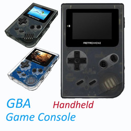 $enCountryForm.capitalKeyWord NZ - Retro Mini Game Console for GBA 32 Bit Portable Players Mini Handheld Game Players For GBA Classic Games Best Gift For Kids