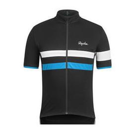 $enCountryForm.capitalKeyWord NZ - Men Summer RAPHA Cycling Jersey Short Sleeve Jersey Bicycle Bike Jersey Cycling Clothing Road Mountain Riding Mtb T shirt Male F2705