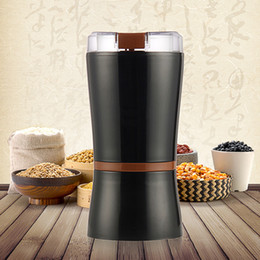 Discount food grinders electric - Electric Spice and Coffee Grinder with Stainless Steel Blades, 3-Ounce, Black Rice red green beans pill Household