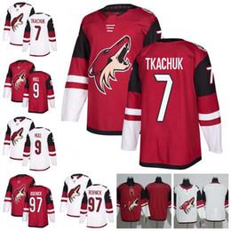... nhl jersey ea6cc 66c40  spain custom arizona coyotes 7 keith tkachuk 9  bobby hull 97 jeremy roenick hockey jerseys s 783acccfa