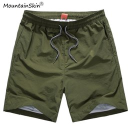 $enCountryForm.capitalKeyWord Canada - Mountainskin Men Women Summer Casual Quick Dry Shorts Solid Plus Size 6XL Fashion Beach Short Pants Brand Clothing LA738