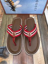 d2954ee4836834 Summer Non-slip slippers flip flops 207533 Men Slippers Slippers Drivers  Sandals Slides Sneakers Leather Slipper