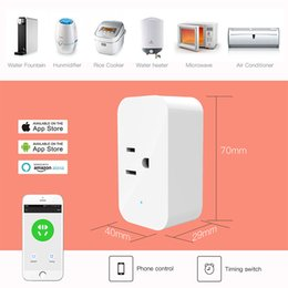 $enCountryForm.capitalKeyWord Canada - 2018 New Original Xiaomi Mi Smart Home Strip Socket Outlet Plug Smart Power Strip with Wifi app remote control for TV home kit