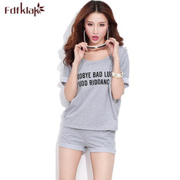 8e99a85e69 Summer New Short sleeve Women Pajamas Cotton Cute Pyjamas Sleepwear Shorts Women  Clothes Night Wear Pijamas 2017 M L XL XXL
