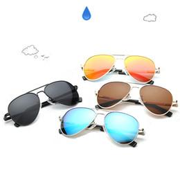 LEIDISEN Attitude mens gafas de sol para hombre moda 0260 diseño de protección UV lente cuadrado completo marco chapado en oro color vienen juguetes