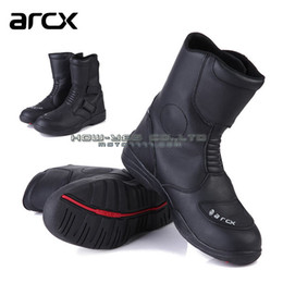 $enCountryForm.capitalKeyWord Canada - ARCX motorcycle waterproof boots high quality leather windproof shoes men knight boots riding shoes 39 40 41 42 43 44 45