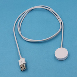 Wholesale Price Power Bracelets NZ - New smart watch charger cable Magnetic Power charging cable 38mm 42mm Charging short battery cable for smart bracelet best price