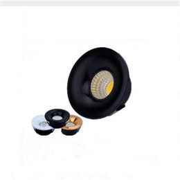 Kitchen Showcase UK - LED Downlights Round 5W COB Mini Spot Recessed Dimmable Down Lamp for Cabinet 110V 220V Home Lights for showcase