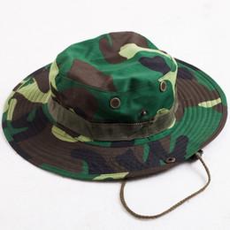 ACI-407 Summer Wide Brim Sun Hats Men Women Anti-UV Visor Caps Outdoor  Camouflage Cap Fishing Hunting Breathable Mesh Chapeu masculino acd31c023a32