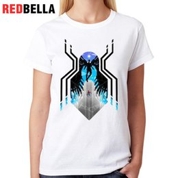 animation figures 2019 - Women's Tee Redbella T Shirt Femme Cool Remeras Verano Usa Animation Comic Figure Funny Lovely Drawing Camisetas Fe