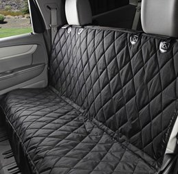 58 X 54 Inch Universal Vehicle Pet Seat Cover Folding Rear Non Slip Cushion Car Multi Functional Design With Hammock