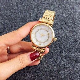 Discount ar batteries - Popular Brand Women's Girl steel band quartz wrist Watch AR 6721-2