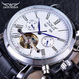 Jaragar fashion luxury watches online shopping - x Jaragar Fashion Design Classic Tourbillion Series Month Year DIsplay Men Watch Top Brand Luxury Automatic Mechanical Watch