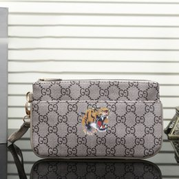 cfa0212ae3db Animal Print Envelope Clutch Canada - High Quality New Travel Toiletry  Pouch 21 cm Protection Makeup