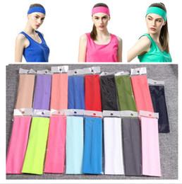 Elastizität Sport Haarbänder Stretch Stirnband Kopf Schweißbänder Kopfbedeckung Gym Zubehör Tennis Fitness Mädchen Sport Stirnbänder im Angebot