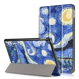 wholesale printing ipad covers 2019 - 20 PCS PU Leather Protective Skin Shell For New iPad 9.7 2017 2018 Smart Cover Magnetic Tri-Folding Cases +Pen discount