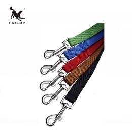 Nylon Dog Collar Wholesale UK - Pet Supplies Nylon Rope Dog Gear Cotton Web Adjustable Leash Multiple-Use Obedience Recall Agility Training Control Lead Restraint Harness