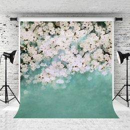 Wedding muslin backdrop online shopping - Dream x7ft Spring Flowers Photography Backdrop Green Baby Photo Background for Wedding Portrait Shoot Studio Prop Backdrops