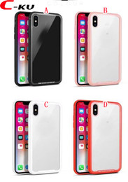 new phones 2019 - New Tempered Glass Back Case TPU PC Hard Case For Iphone X 8 7 Plus 6 6S I6 I7 I8 7Plus Clear Shockproof Fashion Cell Ph