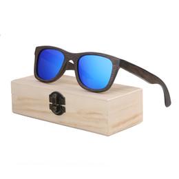 96de93d57986a4 Wood Sunglasses Men women square bamboo Women for men women Mirror Sun  Glasses retro de sol masculino 2018 Handmade with case