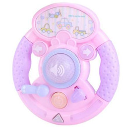 educational pc games for kids NZ - 1 Pc Simulation Car Steering Wheel Piano Early Educational Music Toys for Kids Children's Infant Musical Instruments Games Gifts