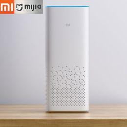 $enCountryForm.capitalKeyWord Australia - Xiaomi Mi AI Speaker Two-Channel Stereo Play Music CPU Cortex A53 Voice Remote Control Bluetooth Dual Band WiFi For Ipod IPhone