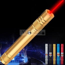 Venta al por mayor de Nuevo estilo GD6 650nm láser rojo lápiz puntero incorporado en el cargo por USB cargador de batería recargable Lazer puntero y Enseñanza