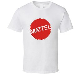 $enCountryForm.capitalKeyWord UK - Mattel T Shirt Mens Tee Old School Toy 80's Pop Culture Retro Gift New From US NEW Fashion T Shirts Summer 100% Cotton