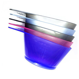 Chinese  2018 Special Offer New Square Plastic Hair Dye Mixing Bowls Coloring Diy Color Dyeing Sucker Palette Tint Bowl Hairdressing Styling Tools manufacturers