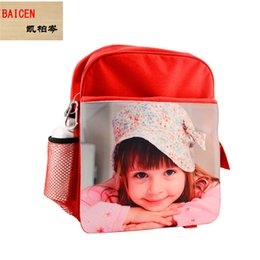 $enCountryForm.capitalKeyWord NZ - Fashion DIY Sublimation Blank children's bag For Heat Transfer printing school bag materials