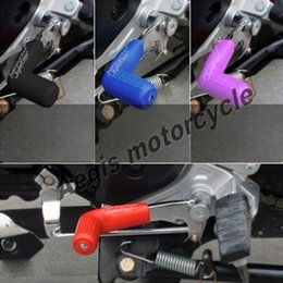 Discount road lever - Off-road motorcycle accessories modified sports car tune block retaining rubber shoes in gear lever protection cover 1 P