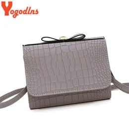 $enCountryForm.capitalKeyWord NZ - Yogodlns Fashion Women Messenger Bags Mini alligator Handbag bow shoulder bags Flap Hand Crossbody Bag For Lady Sac Femme Bolsa