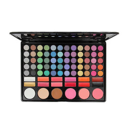$enCountryForm.capitalKeyWord Australia - 78 multi colored Color Eye shadow Palette With Blusher Contour Powder Lipgloss Fashion Palette Makeup Set Make UP Kit DHL free shipping