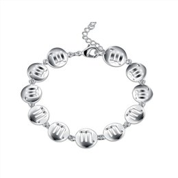 925 Silver Bracelet Price NZ - Wedding gift!Scorpio Bracelet 925 silver bracelet JSPB583;low price girl women sterling silver plated Charm Bracelets