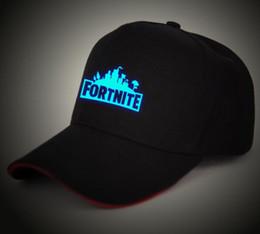 New arrivals for Baseball Ball Games. 1 3. Game Fortnite Caps Luminous Fortnite  Fans Trucker Cap Summer Baseball Hat Net ... 975ebcc51bce