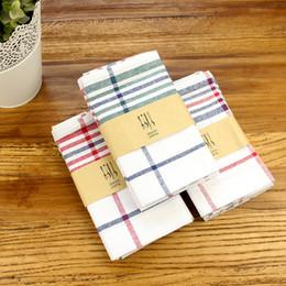 Cloth napkin sets online shopping - 3pcs Table Cloth Napkins Set Square cm Jacquard Hotel Dinner Napkins Wedding Napkins